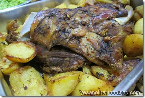 roasted lamb shoulder